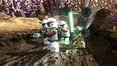 Коды для LEGO Star Wars III: The Clons Wars